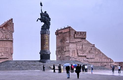 内蒙古鄂尔多斯进入夏季旅游旺季