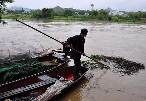 江西发布第一号洪水黄色预警